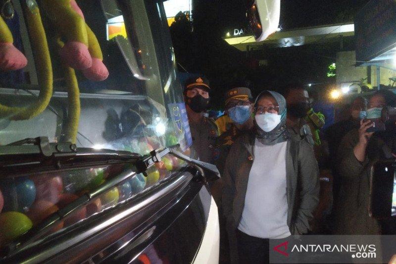 Bupati Bogor putar balik bus pemudik bermodus angkut karyawan