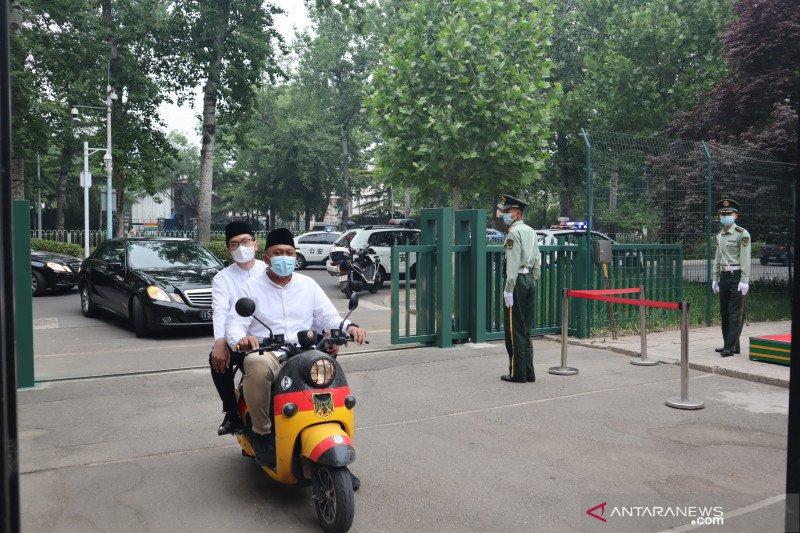 KBRI Beijing leluasa gelar shalat Idul Fitri