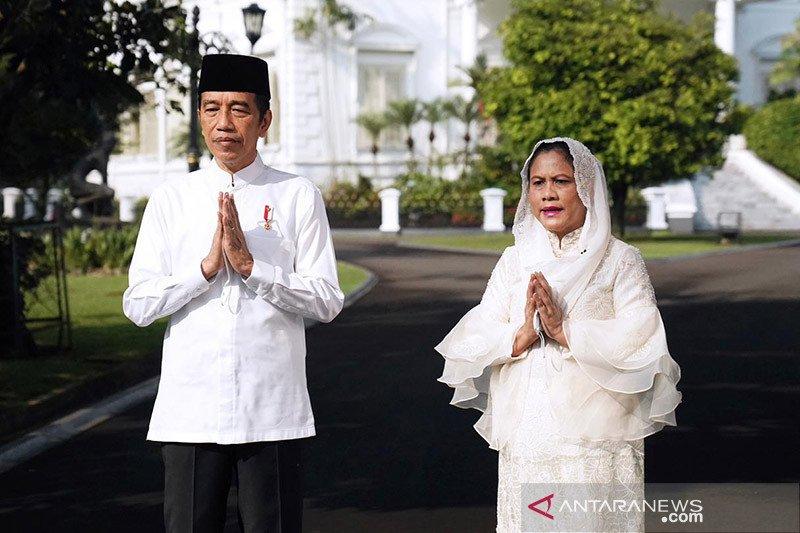Kemarin, Presiden Shalat Id di Istana Bogor hingga pesan Ketua MPR