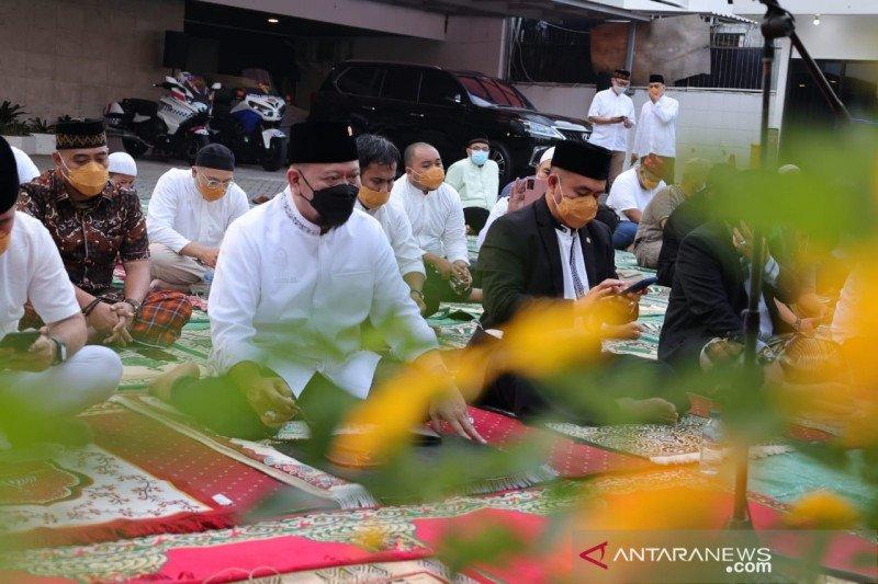 LaNyalla shalat Idul Fitri di rumah ikuti imbauan pemerintah