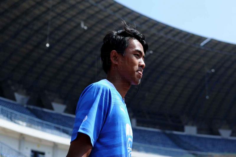 Bek muda Persib Kakang Rudianto rayakan Lebaran dengan terapkan prokes