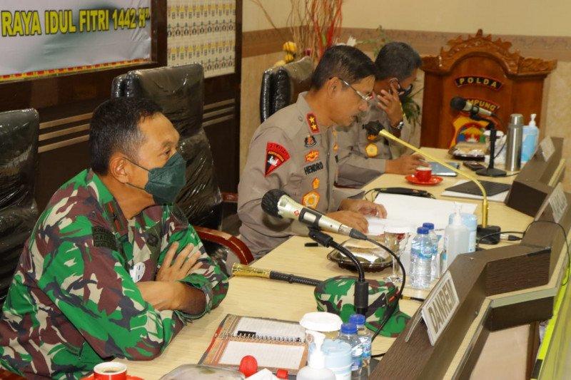 Kapolda Lampung sebut ada tiga pos pengetatan pemeriksaan arus balik