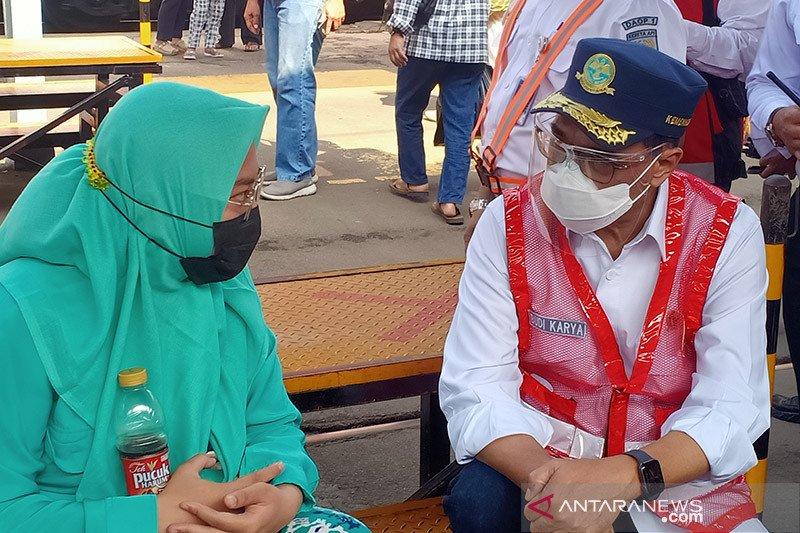 Menhub: PT KCI tidak profesional atur penumpang