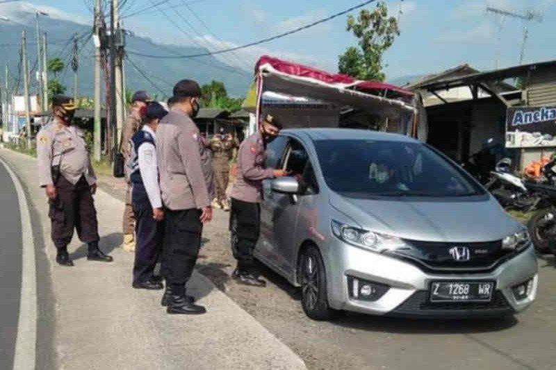 Mudik Lebaran, Polres Majalengka catat 1.028 kendaraan diputar balik