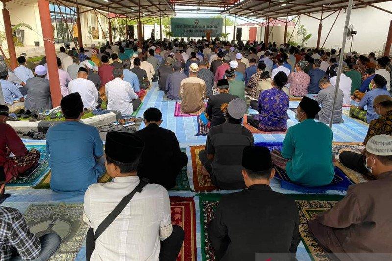 Ratusan WNI ikuti shalat Ied di KBRI Bandar Seri Begawan