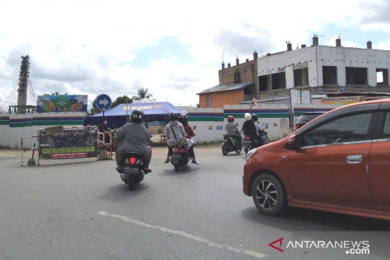 100 ribu kendaraan keluar masuk perbatasan Banjarmasin-Batola