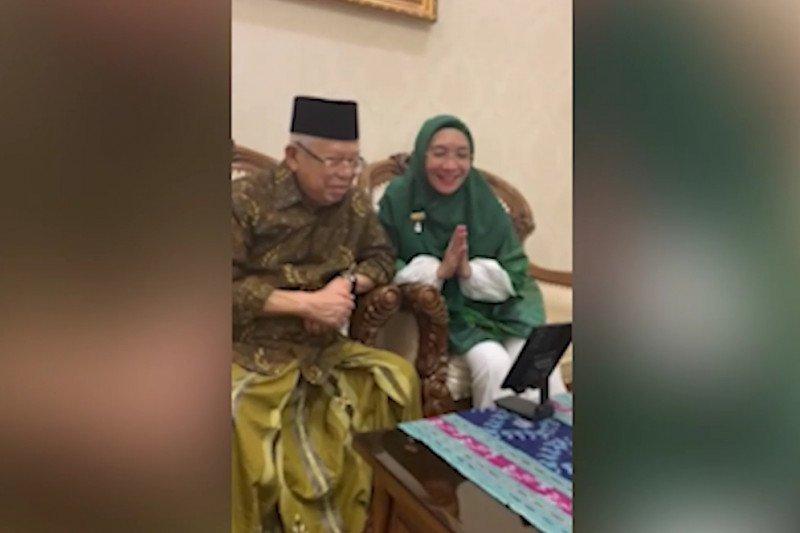 Menko PMK bersilaturahmi dengan Wakil Presiden secara virtual