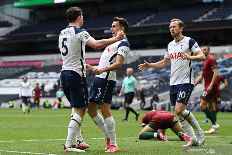 Liga Inggris: Tottenham kalahkan Wolverhampton 2-0