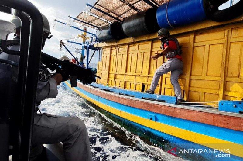 Bakamla tangkap kapal ikan Vietnam di perbatasan Indonesia-Malaysia