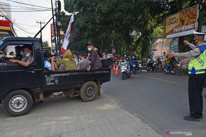 Polda Lampung perpanjang penyekatan hingga 31 Mei 2021