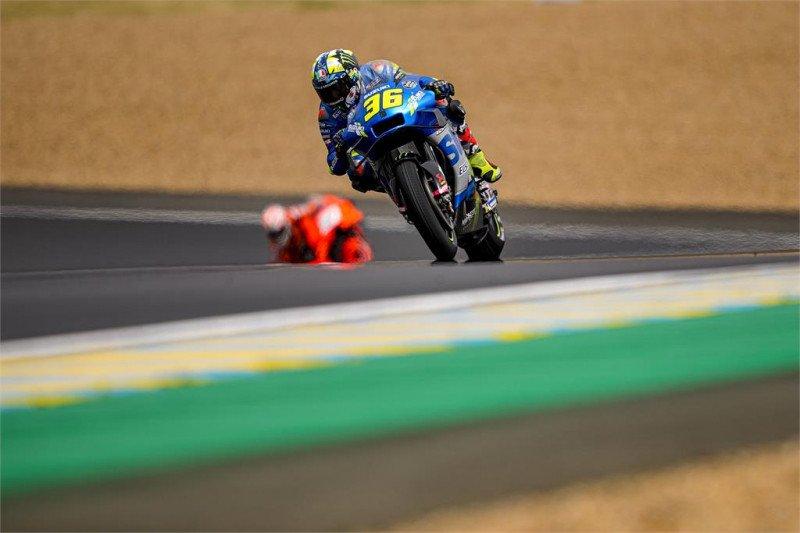 Jeblok di kualifikasi, duet Suzuki hadapi jalan terjal di GP Prancis