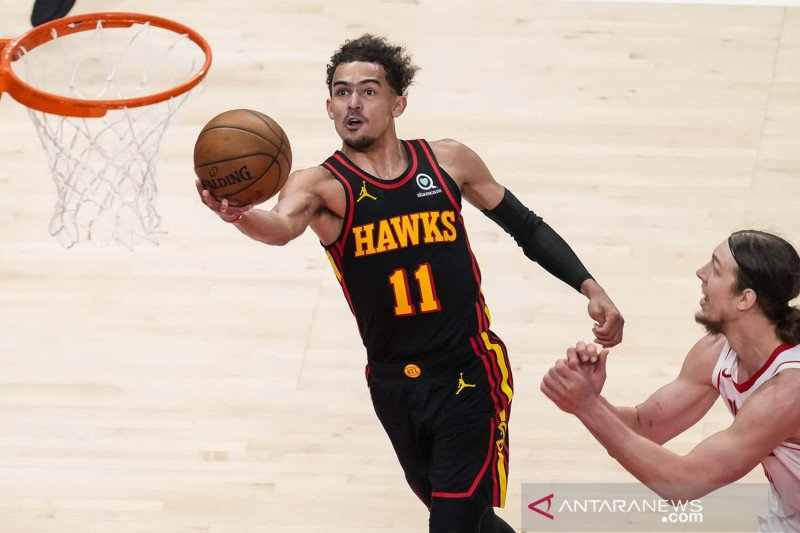 NBA: Atlanta Hawks kalahkan Houston Rockets 124-95