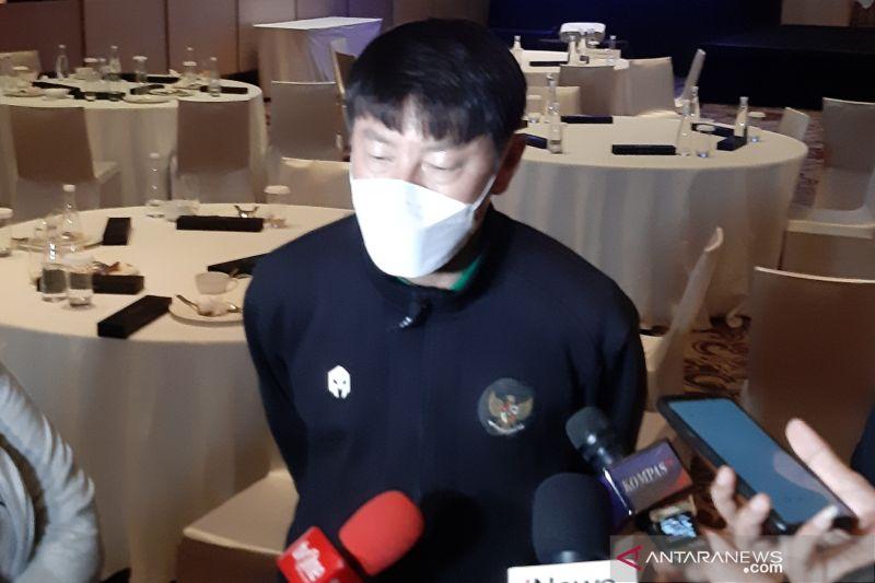 Shin Tae-yong siapkan tiga laga internal TC ketiga timnas U-18