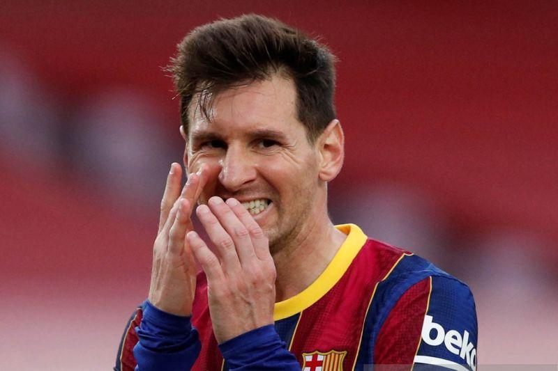 Laporta: negosiasi kontrak Messi lancar, tetapi belum ada kesepakatan