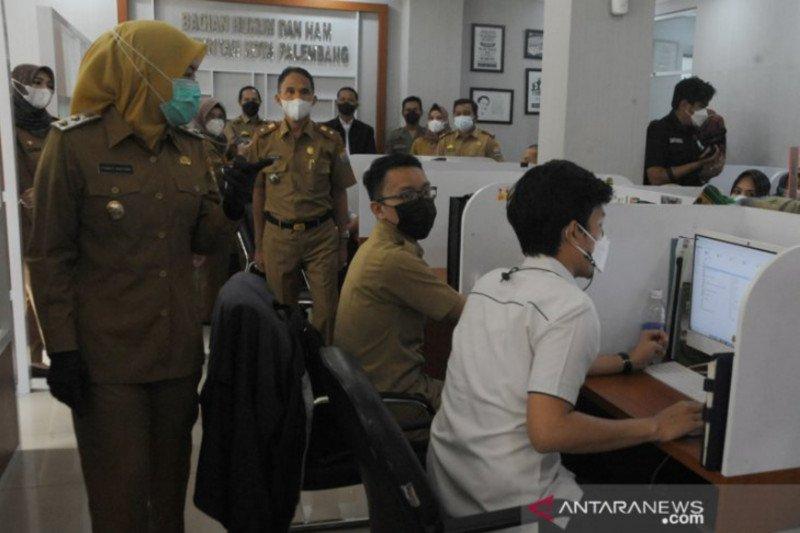 Wakil Wali Kota-Sekda Palembang dapati pegawai bolos usai Lebaran