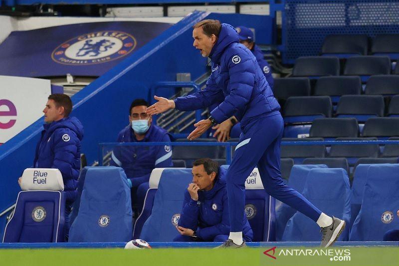 Tuchel berharap kembalinya suporter bantu Chelsea finis empat besar