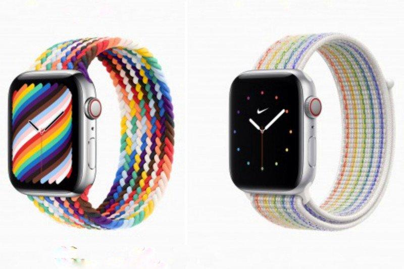 Apple perkenalkan dua band Pride Edition baru