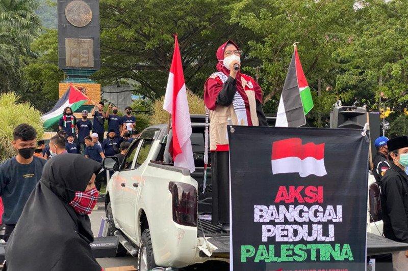 Komunitas Muslim Banggai galang dana untuk Palestina
