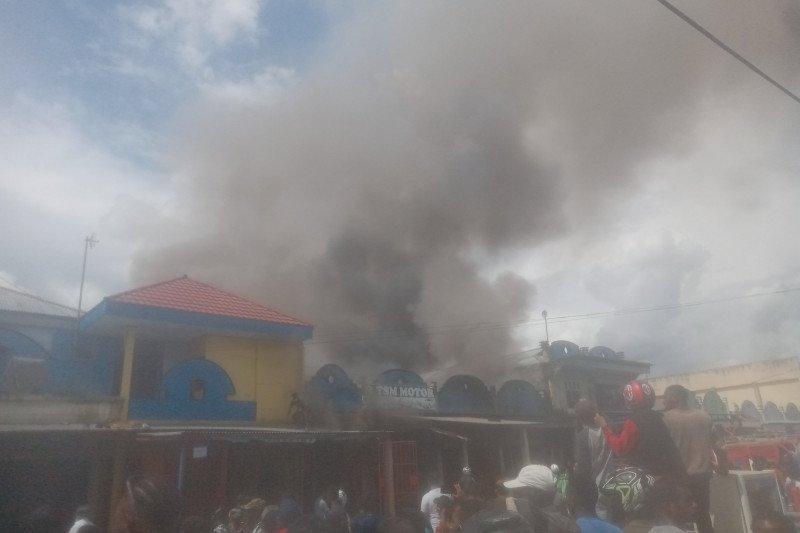 Dinsos Jayawijaya: tak ada bantuan untuk korban kebakaran