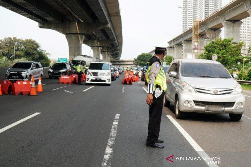 Jasa Marga: 301.720 kendaraan kembali ke Jabotabek pada H+3 Lebaran