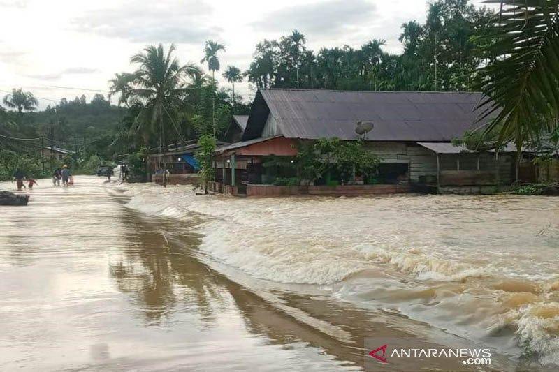 Tiga kecamatan di Subulussalam Aceh terendam banjir