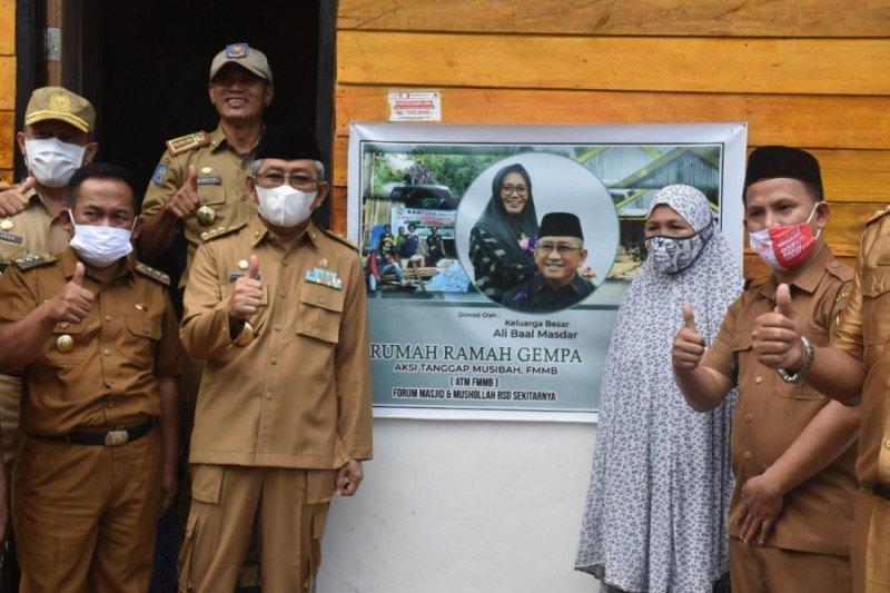 Pemprov Sulbar bangun 150 huntap untuk penyintas gempa di Majene