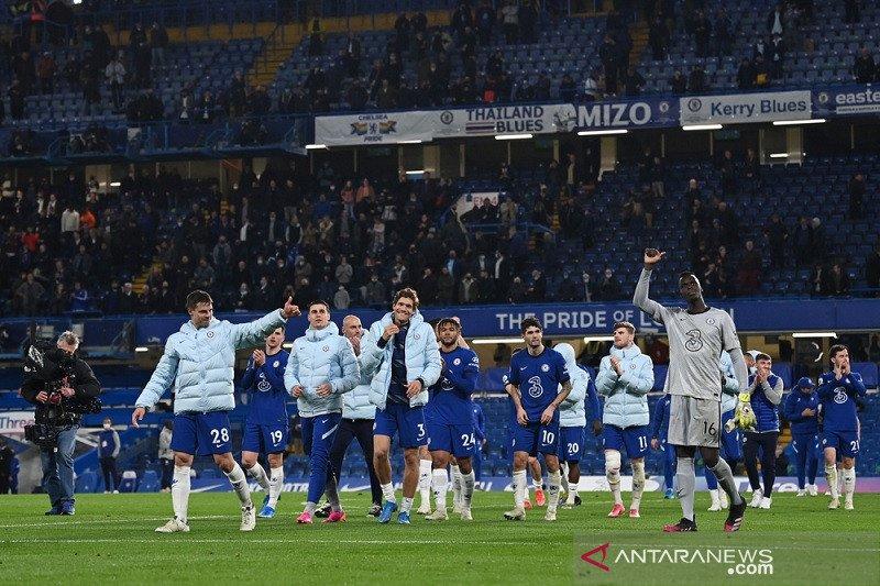 Klasemen Liga Inggris: Chelsea buat Leicester rawan disalip Liverpool