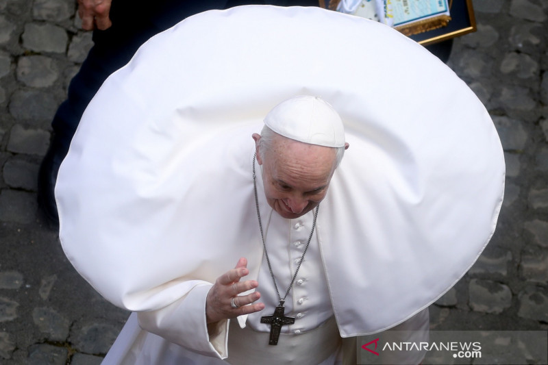 Vatikan: Kondisi Paus Fransiskus makin membaik