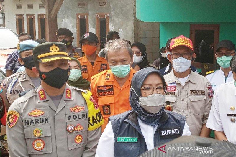Bupati Bogor menduga banjir bandang Cigudeg akibat tambang ilegal