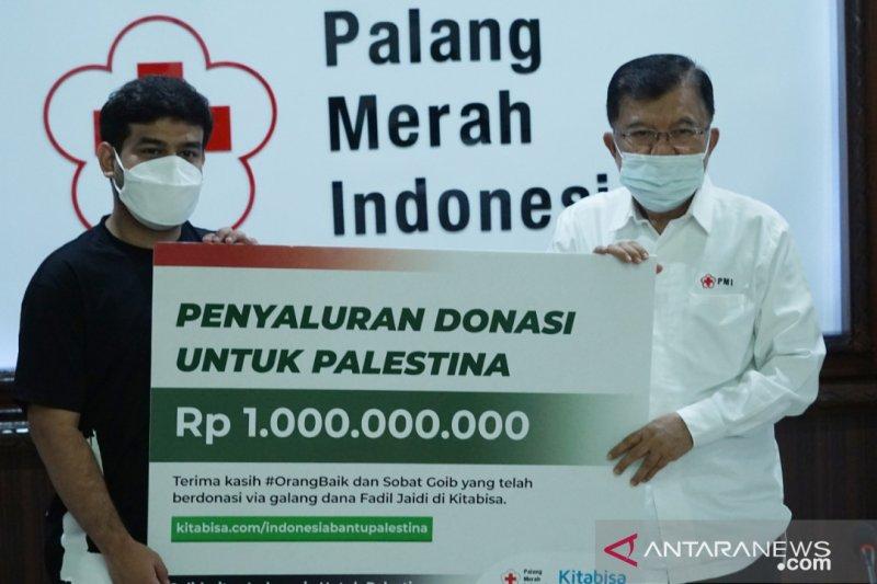 PMI salurkan donasi Rp1 miliar untuk rakyat Palestina