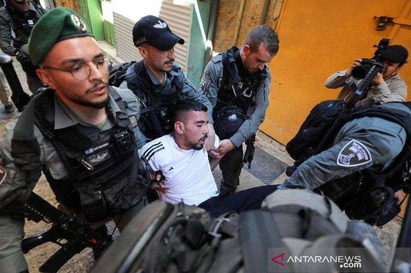 Polisi Israel tahan aktivis kembar dari Yerusalem Timur