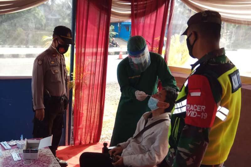 Polisi: 19 orang terjaring di pos pengamanan Banyumas