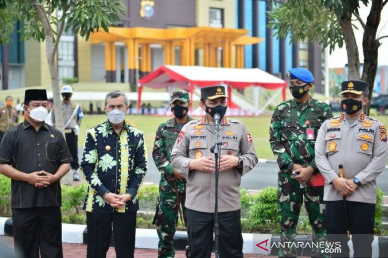 Peralatan-personel tangani karhutla Riau sudah siap, sebut Wakapolri