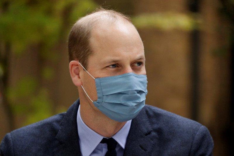 Pangeran William sudah dapat dosis pertama vaksin COVID-19
