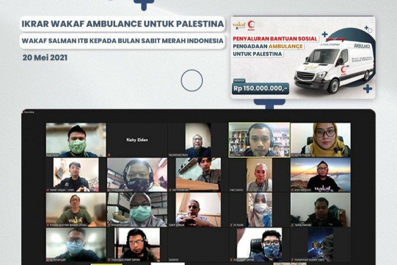Wakaf Salman ITB dan donatur bantu pengadaan ambulan bagi Palestina