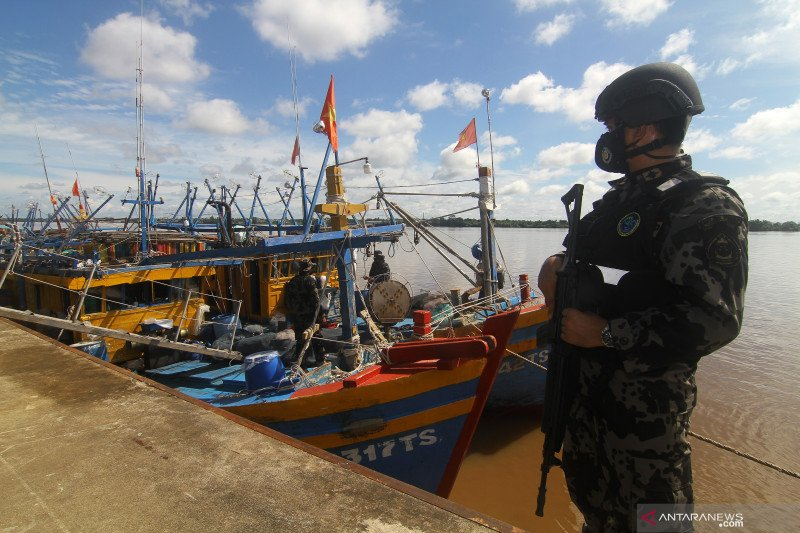 Sepanjang 2021, KKP proses hukum 92 kapal ikan ilegal