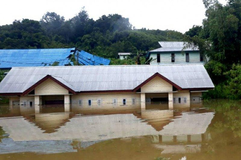 Pedalaman Sungai Kayan Kabupaten Malinau banjir