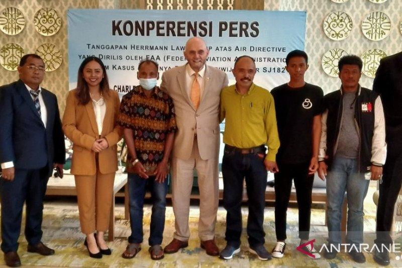 Keluarga penumpang Sriwijaya Air SJ 182 gugat Boeing ke pengadilan