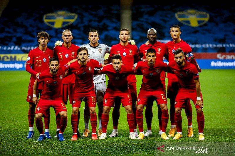 Cristiano Ronaldo pimpin skuad penuh bintang Portugal untuk Euro 2020