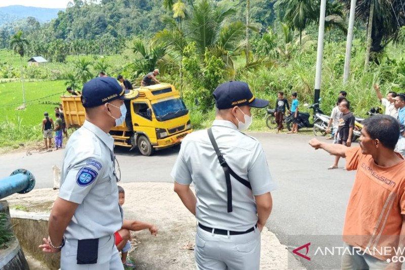 Korban meninggal kecelakaan Pasaman Transport Express dapat santunan