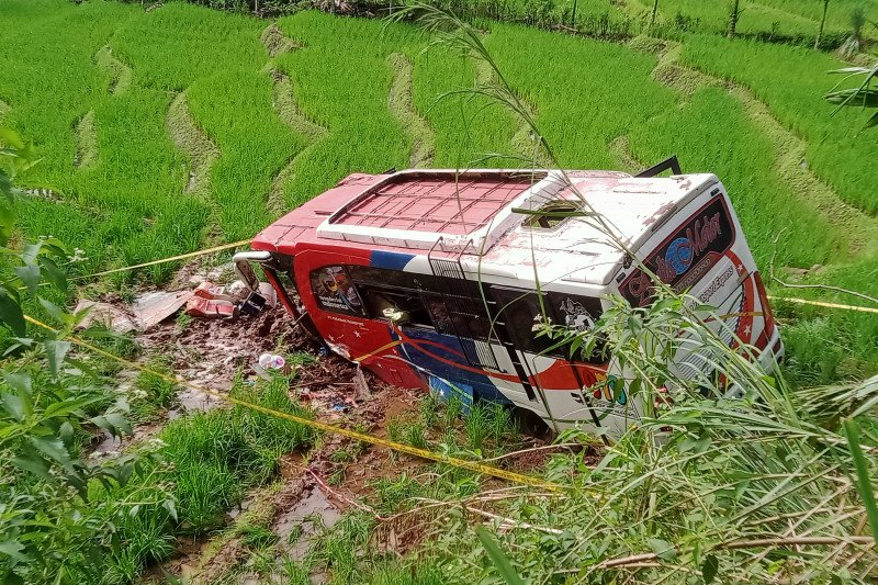 Korban meninggal kecelakaan bus di Pasaman bertambah satu orang