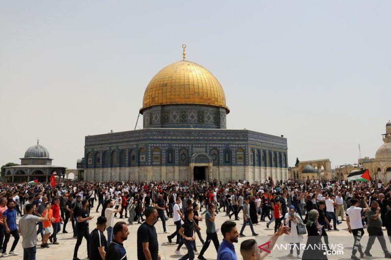 Pasukan pendudukan Israel serang pengunjuk rasa di Yerusalem