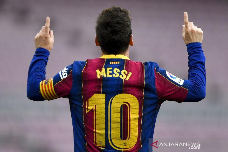 Lionel Messi incar lebih banyak gelar usai juarai Copa del Rey