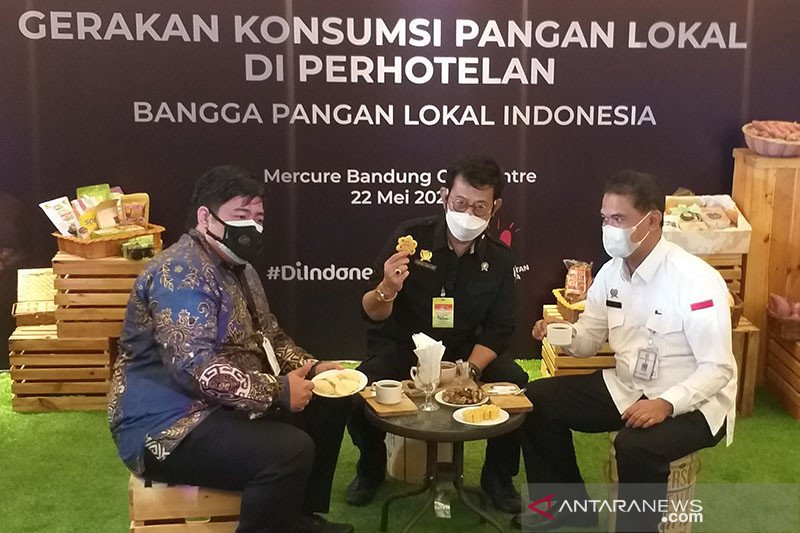 Menteri Pertanian dorong konsumsi pangan lokal di perhotelan