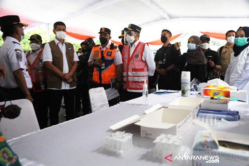 Menhub minta tes antigen untuk penumpang dari Sumatera konsisten