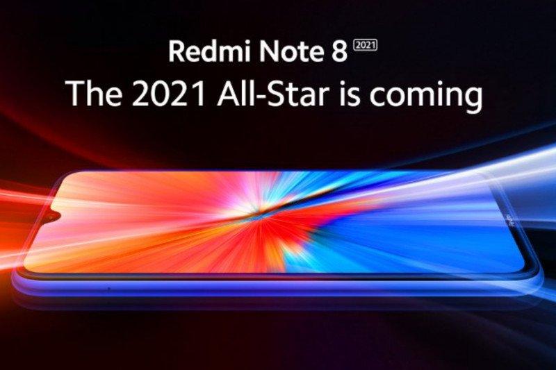 Desain Redmi Note 8 2021 terungkap dalam teaser baru