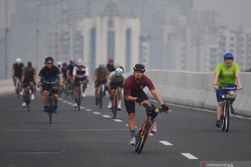 DKI kemarin, korban uji jalur sepeda hingga kunjungan wisata dibatasi