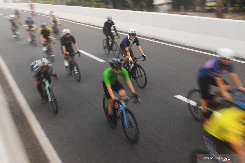 "Wagub DKI : Uji coba ""road bike"" Sudirman-Thamrin disepakati Polda"