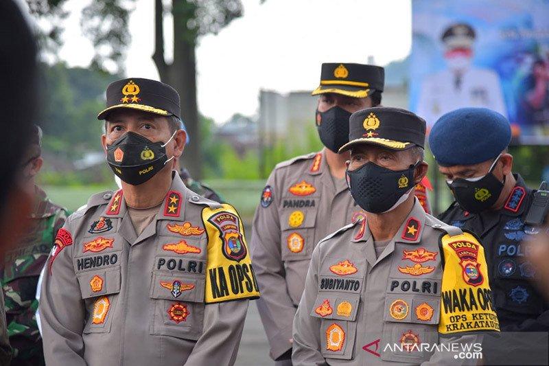 Kapolda Lampung minta jajarannya tindak tegas pelaku kriminal
