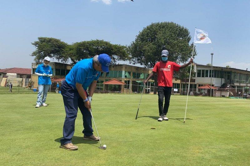 KBRI Addis Ababa gelar turnamen golf di Ethiopia
